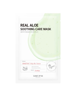 SOME BY MI - Real Masque de soin apaisant à l'aloès - 1pc
