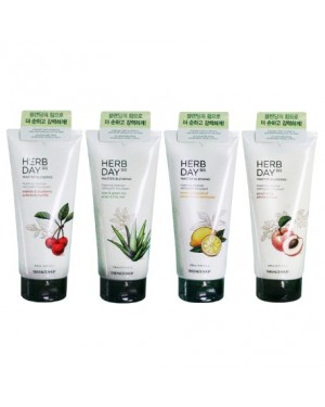 The Face Shop - Herb Day 365 Master Blending Moussant Nettoyant