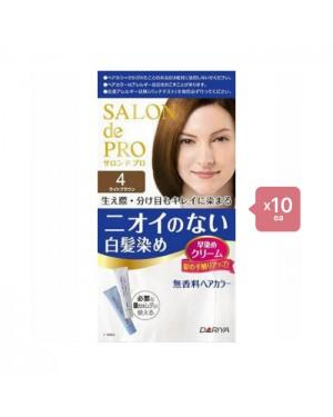 Dariya - Salon De Pro - Hair Color Cream - 1box - 4 Light Brown -10PCS
