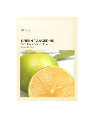 ANUA - Green Tangerine Vita Dark Spot Mask - 1pc