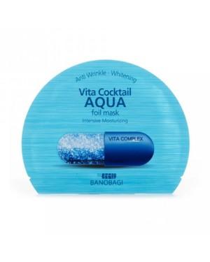 BNBG - Vita Masque en feuille de cocktail - Aqua - 10pcs