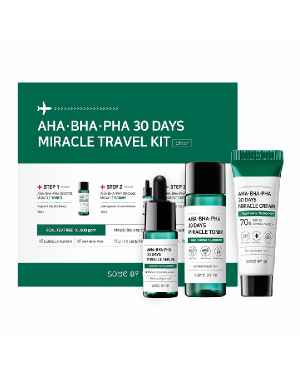 SOME BY MI - AHA-BHA-PHA 30 Days Miracle Kit de voyage - Édition
