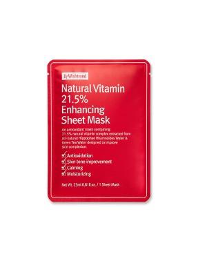 By Wishtrend - Natural Vitamin 21.5% Enhancing Sheet Mask - 1ea