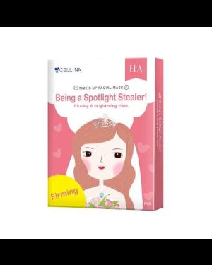 CELLINA - Masque facial raffermissant et éclaircissant Time's up - 5PCS