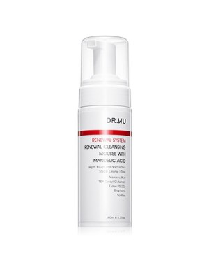 DR.WU - Renewal Cleansing Mousse With Mandelic Acid - 160ml