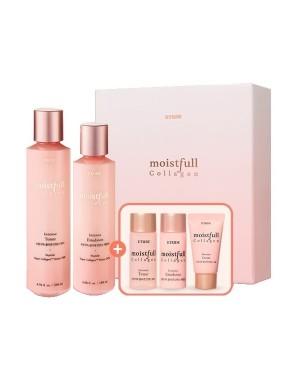 Etude House - Moistfull Collagen Intense Skin Care Set (5Items) - 1 set