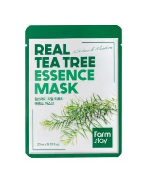 Farm Stay - Masque à essence véritable arbre à thé - 1pc