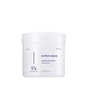 MISSHA - Super Aqua Ultra Hyalron Toner Pads - 180g/90pads