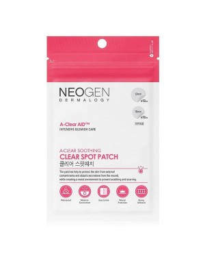 NEOGEN Dermalogy - A-Clear Soothing Clear Spot Patch - 24patches