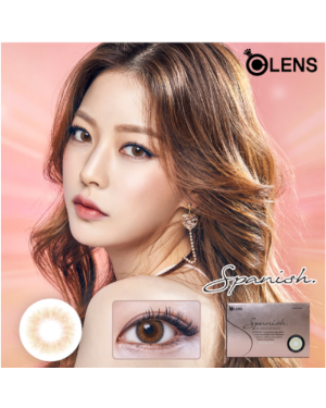 Olens - Spanish 1 Month - Real Brown - 2pcs