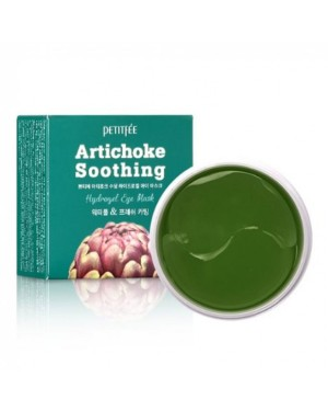 PETITFEE - Artichoke Soothing Hydrogel Eye Patch - 60pcs