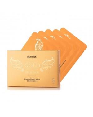 PETITFEE - Gold Neck Pack - 5pcs