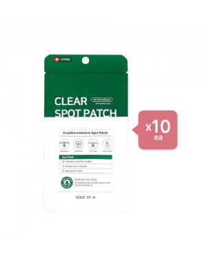SOME BY MI - Clear Spot Patch (10ea) Set - Hunter green