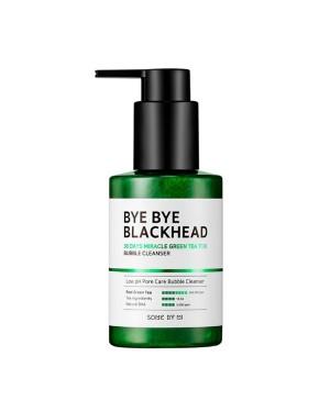SOMEBYMI - Bye Bye Blackhead Miracle Thé vert Tox, Nettoyant Bubble - 120g