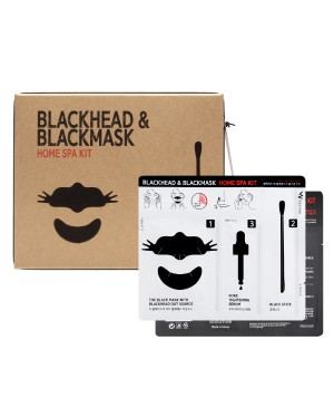 Wish Formula - Trousse de spa à domicile Blackhead & Blackmask - 10pcs