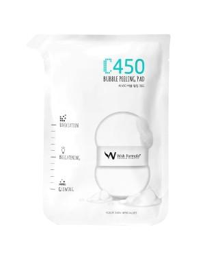 Wish Formula - Tampon Peeling à Bulles C450 - 1pc